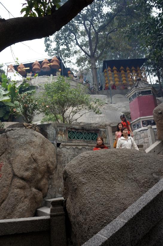 templul de pe munte