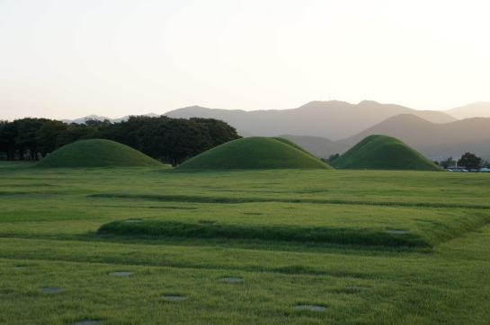 tumuli gyeongju