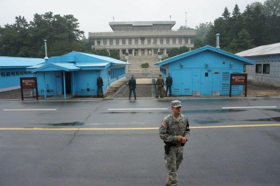 coreea de nord dinspre sud
