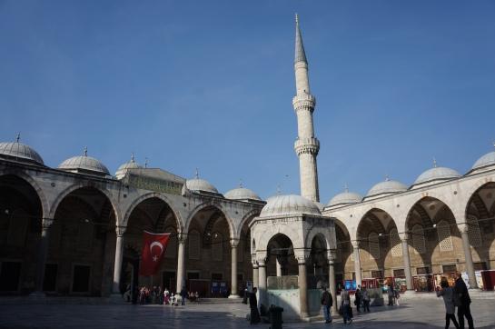 moschea albastra