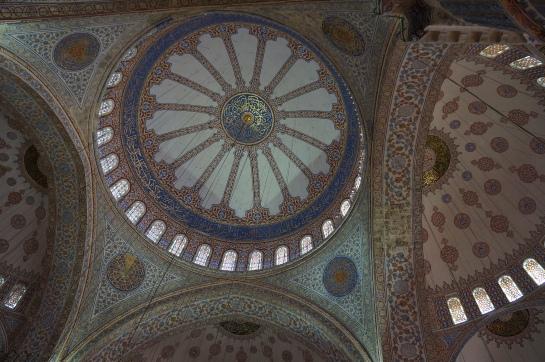 cupola moschea albastra