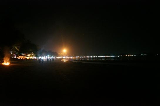 plaja in noapte palolem