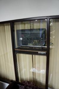 tv-ul de geam
