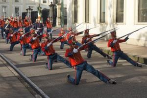 Bogota parada militara