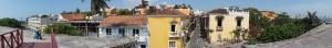 Cartagena orasul vechi panoramic