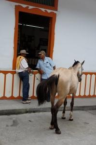 cowboy in Salento
