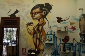 Lima Barranco cafenea