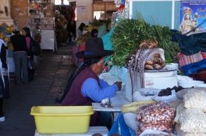 Piata din Cuzco