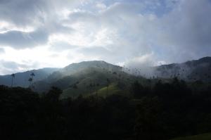 valle de cocora dupa ploaie